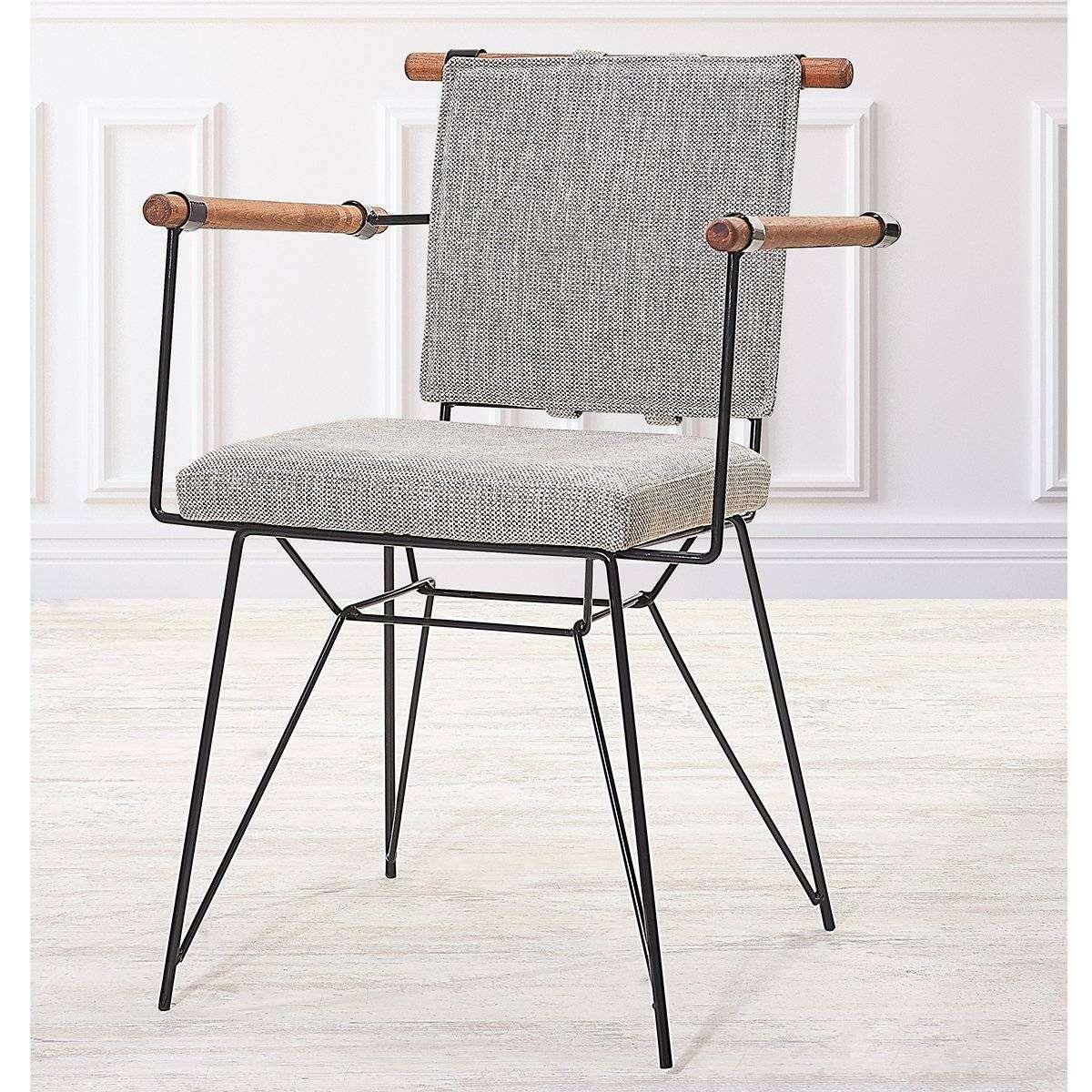 Kollu Metal Ayak Sandalye