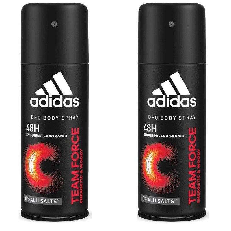Adidas Team Force Erkek Deodorant - 150 ML - 2 Adet