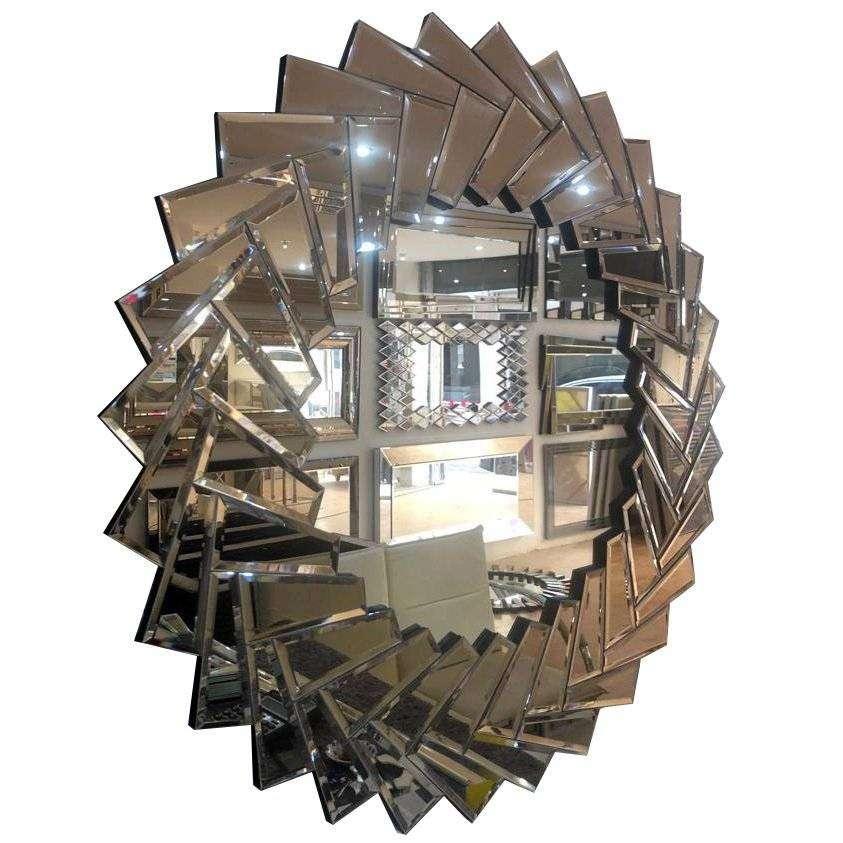 Yelpaze Duvar Aynası