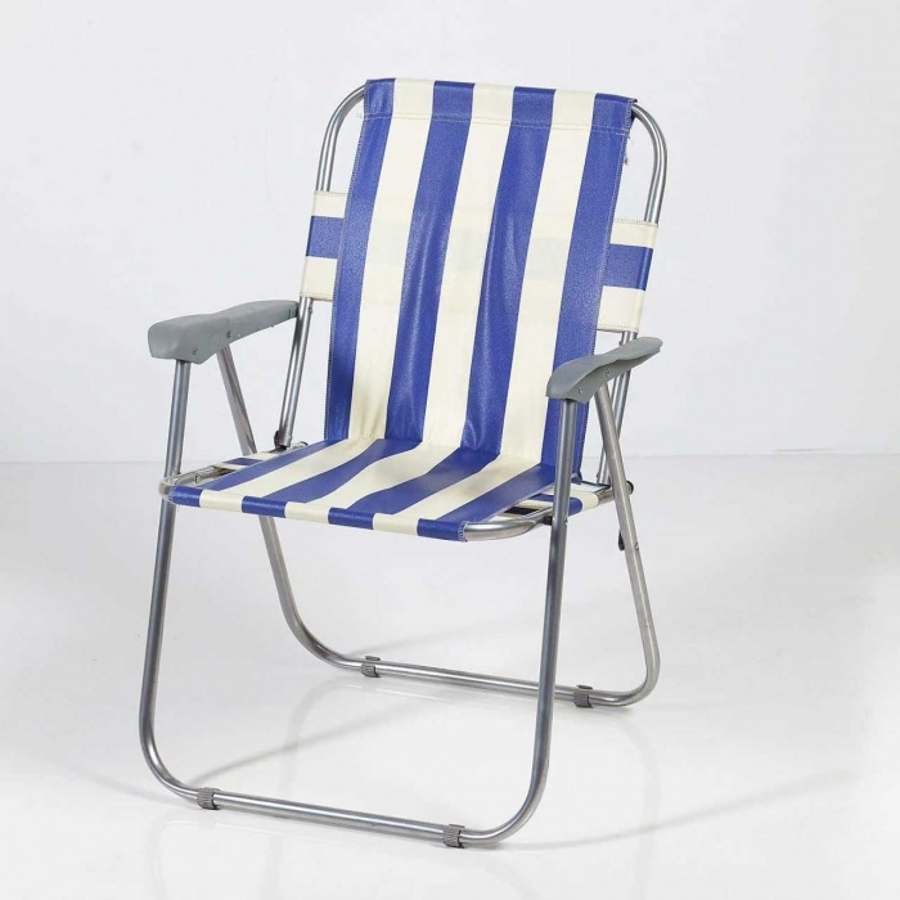 Katlanabilir Piknik/Kamp Sandalyesi-Mavi