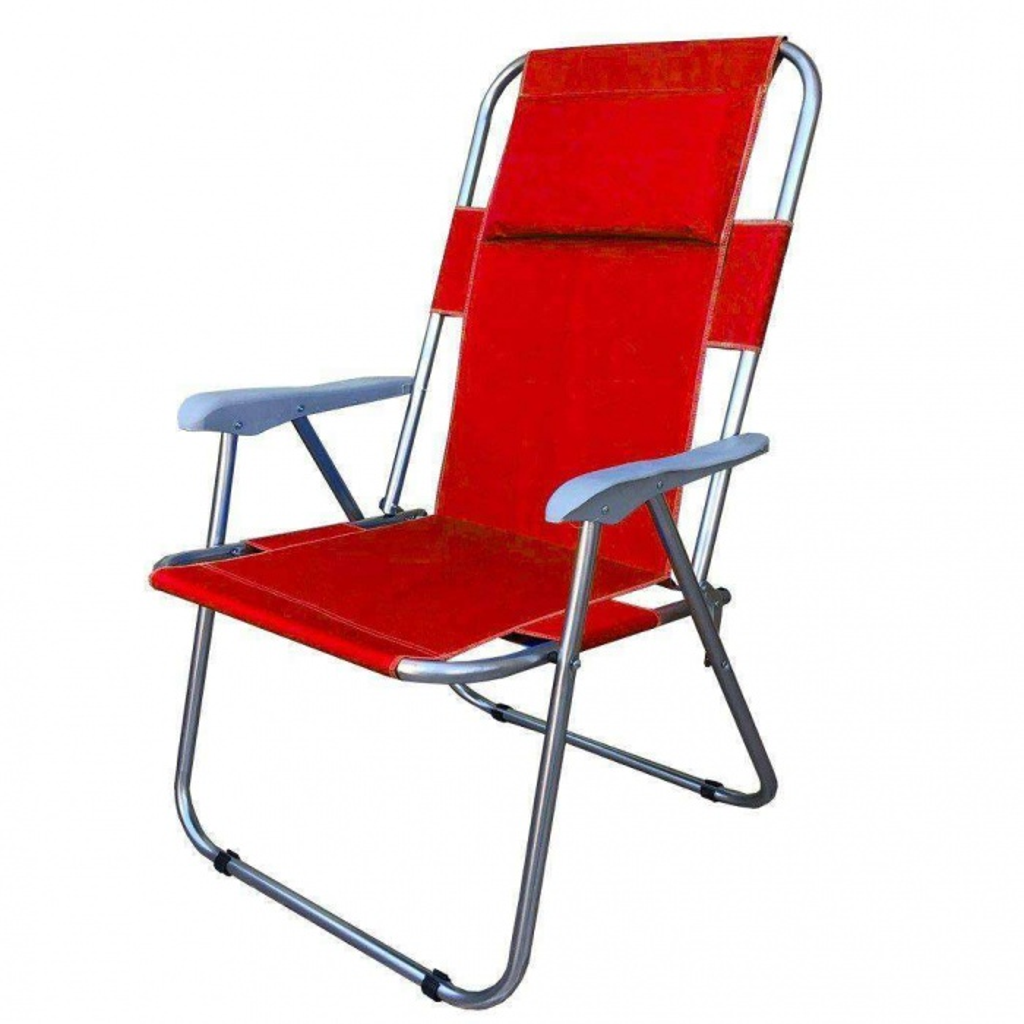 Katlanabilir Yastıklı Piknik-Kamp Sandalyesi