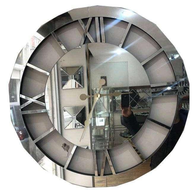 Yuvarlak Saatli Duvar Aynası