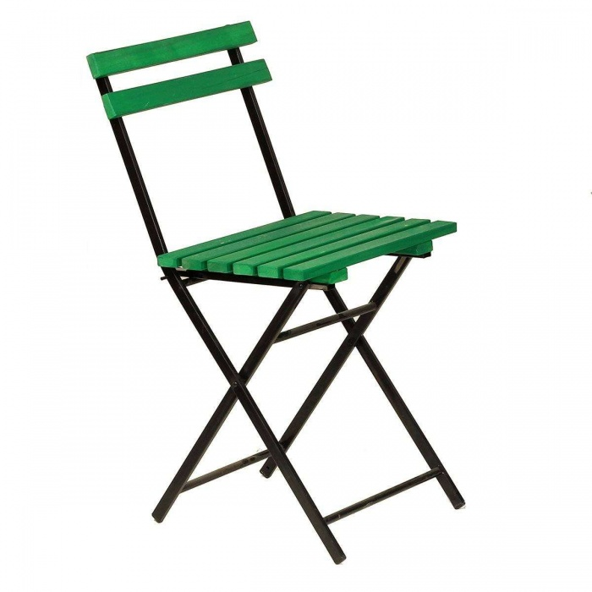 Ahşap Yeşil Katlanır Sandalye