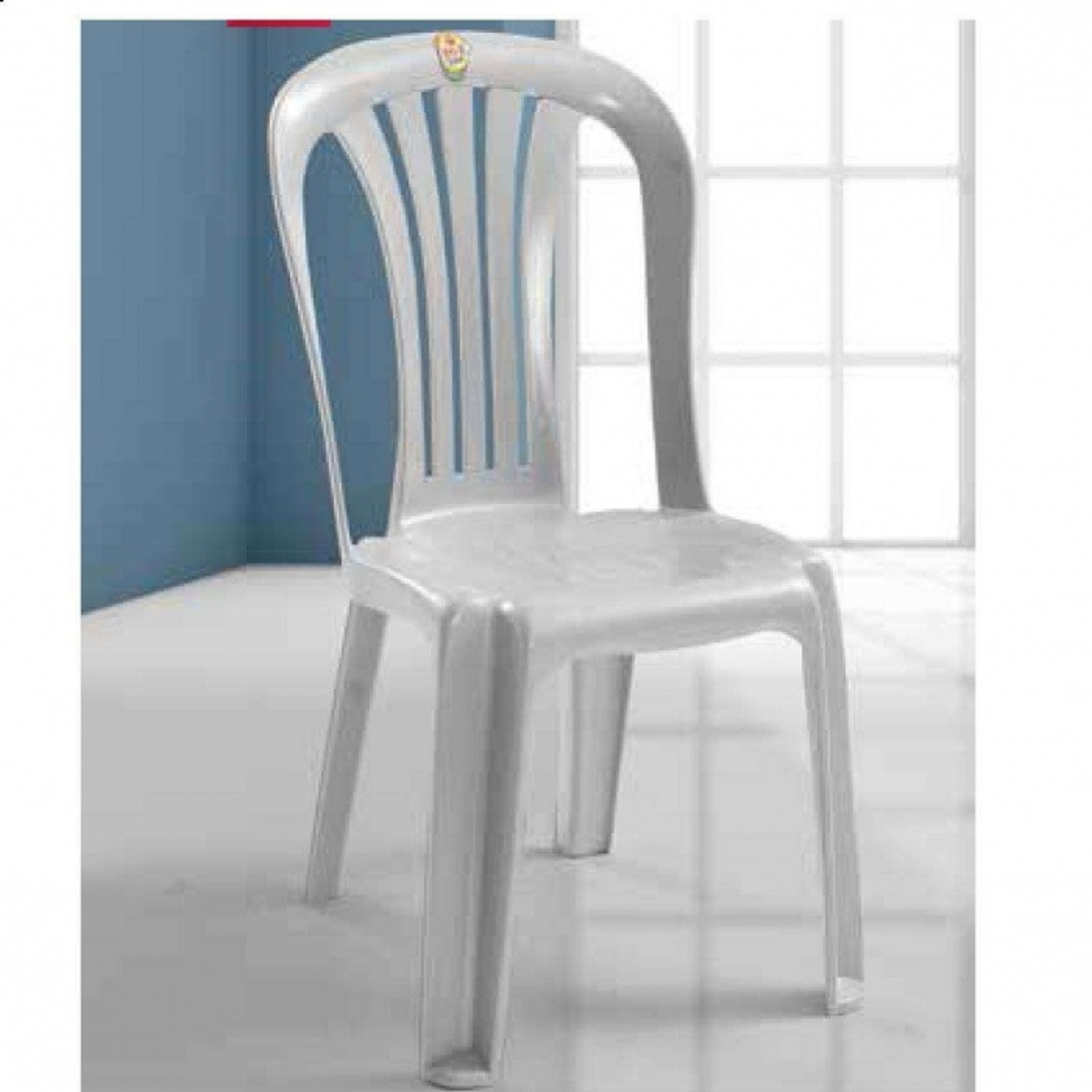 Kolsuz Plastik Bahçe Sandalyesi-4 Adet