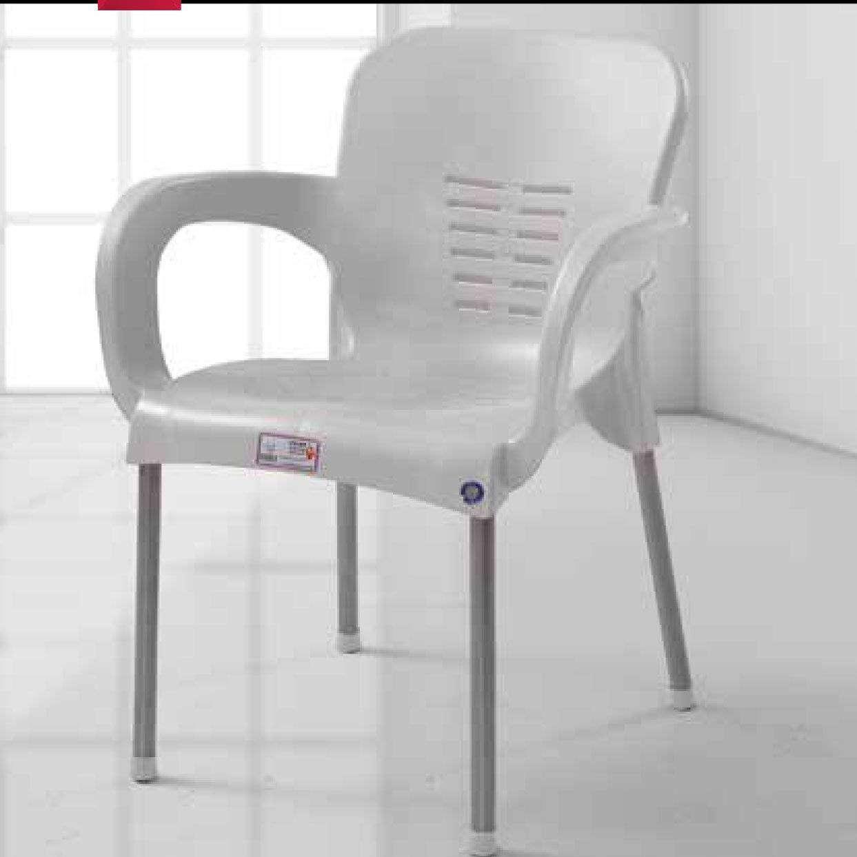 Paris Kollu Plastik Bahçe/Balkon Sandalyesi- 4 Adet