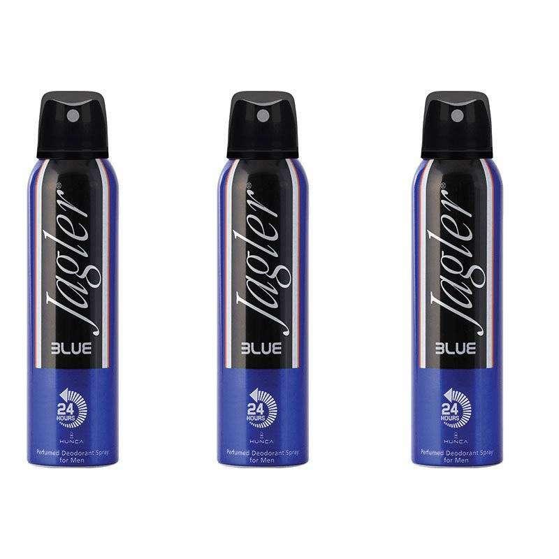 Jagler Blue Erkek Deodorant 150 ML-3 Adet