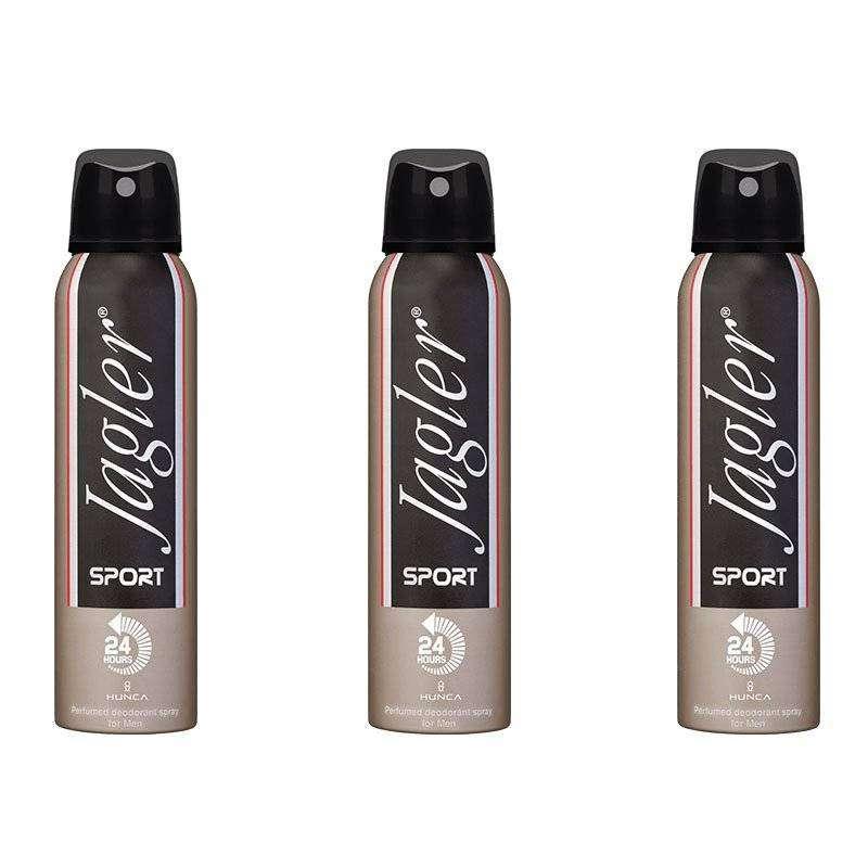 Jagler Sport Erkek Deodorant 150 ML - 3 Adet
