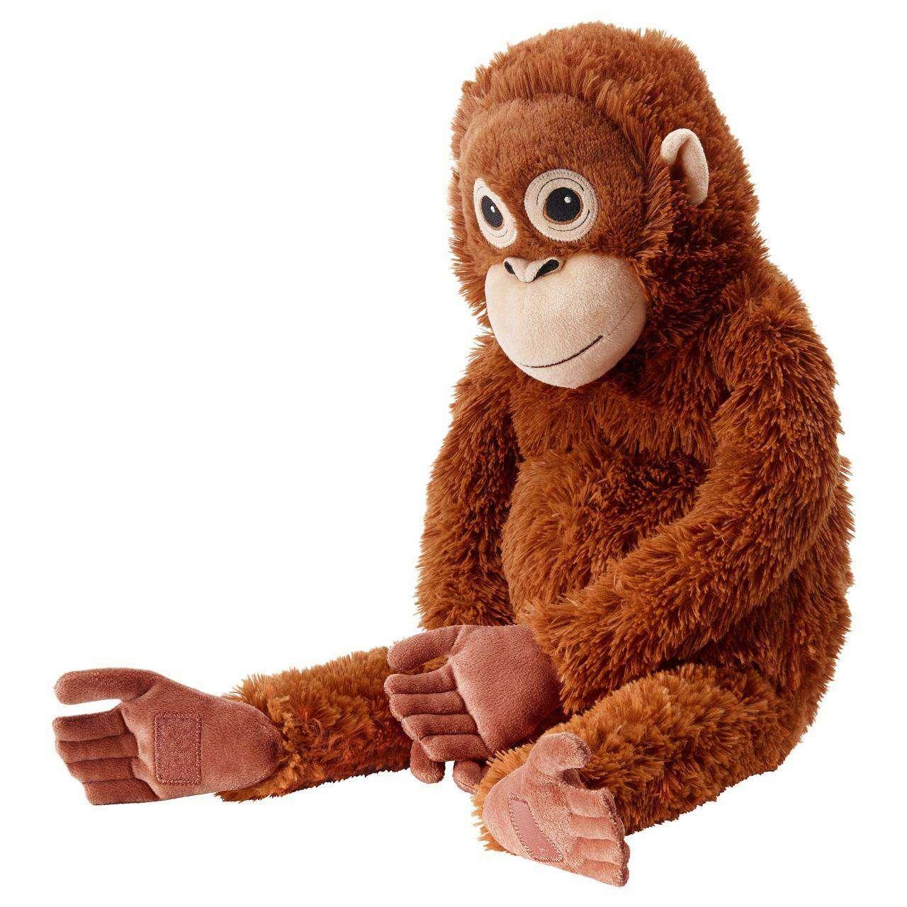 Peluş Maymun Kahverengi