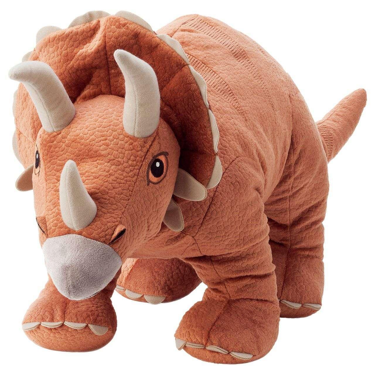 Jattelık Dinozor Kahve-46cm