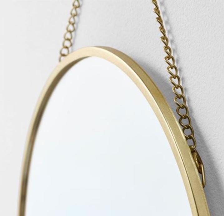 Lassbyn Ayna Altın Rengi-İKEA