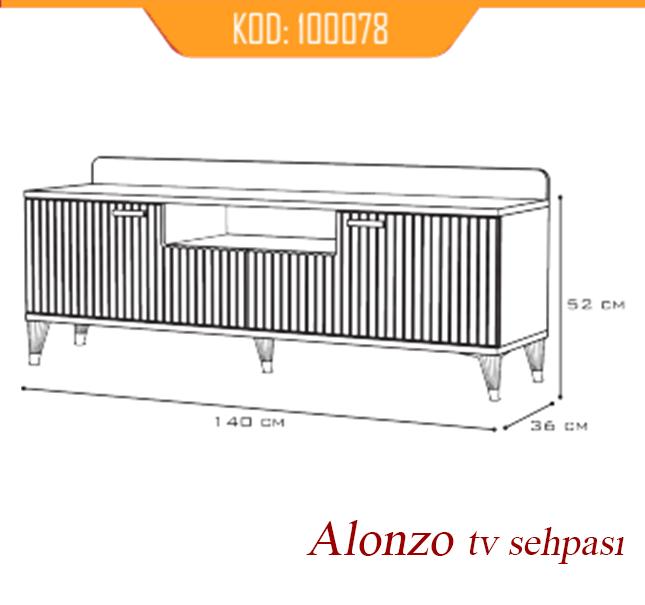 TV Sehpası Alonzo